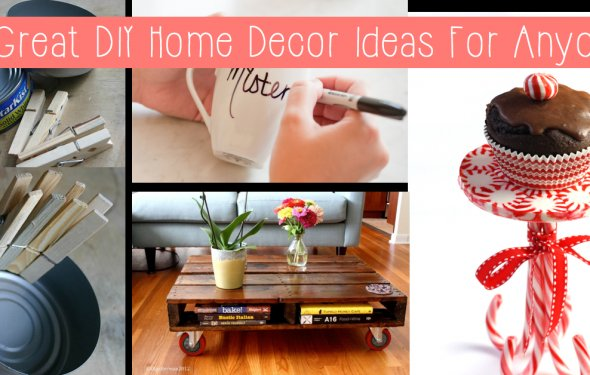 10 Great DIY Home Decor Ideas