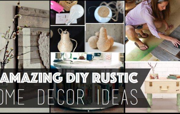 12 Amazing DIY Rustic Home