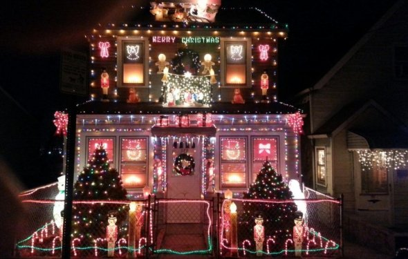 Christmas Decorated Home