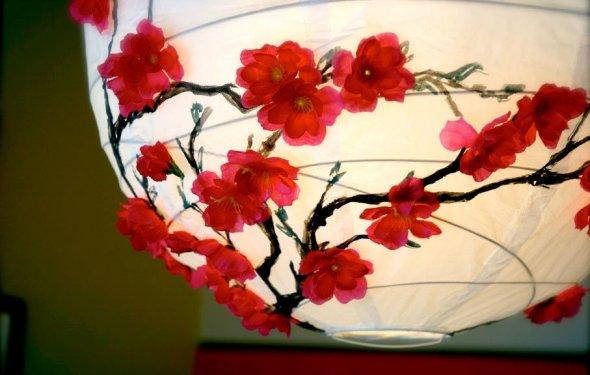 1. Cherry Blossom Lantern