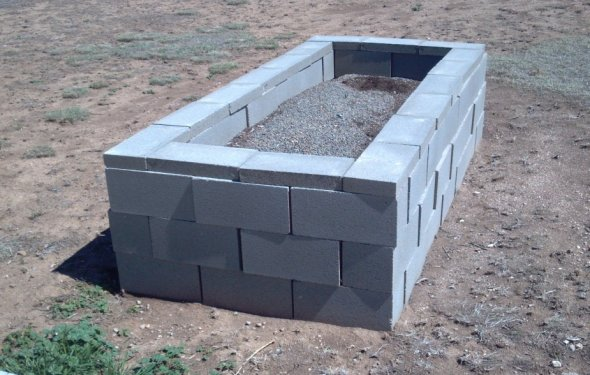 A 4 X 8 Raised Bed Built With