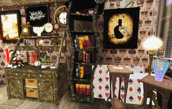 Alice In Wonderland Home Decor