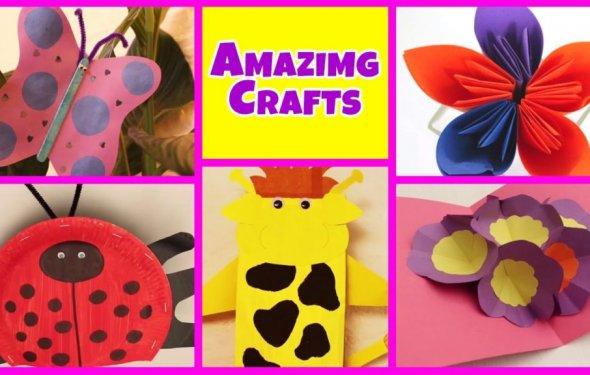 Amazing Art And Craft Ideas
