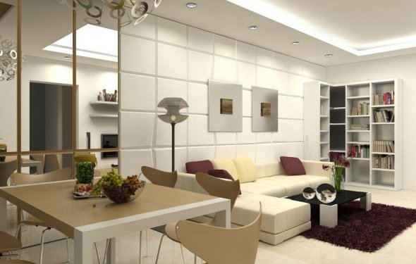 Rooms as interior design