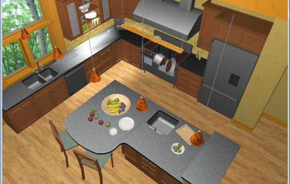 Visualize new countertops and