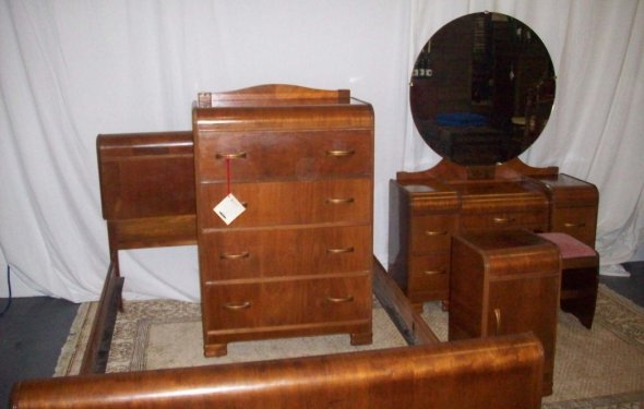 Art Nouveau Bedroom Sets Chest