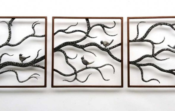 Awesome large metal wall art