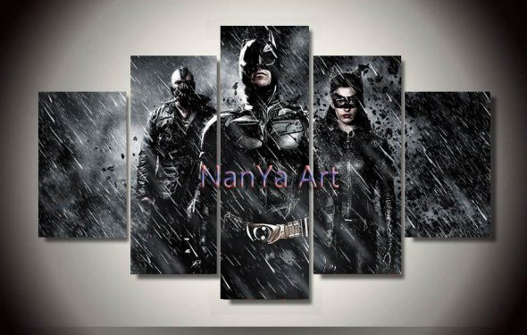 Batman home decor canvas