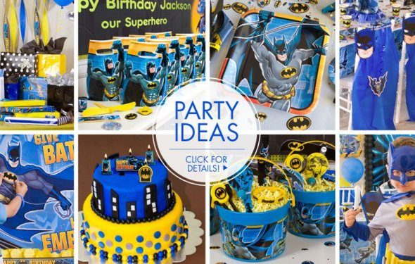 Batman Party Supplies - Batman