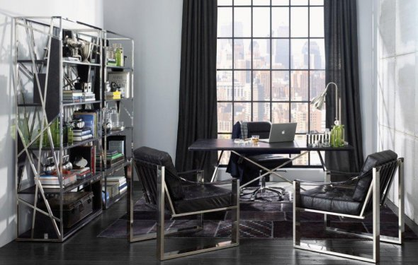 Modern home office decorating