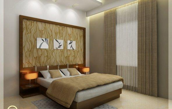 Bedroom interior design in