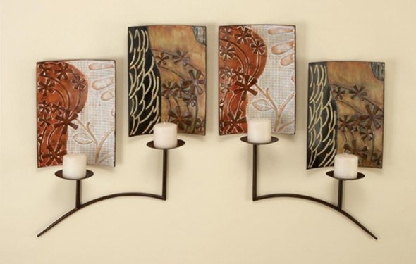Wire wall art home decor