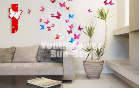 3D Wall Sticker Butterfly