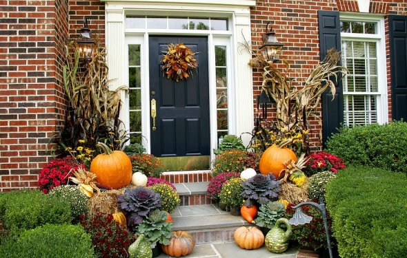 Cheap Fall Decorations For