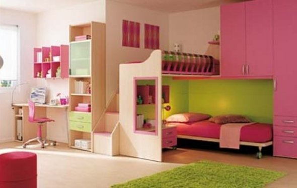 Childrens Bedroom Interior