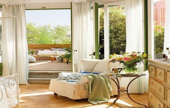 Spring bedroom decorating