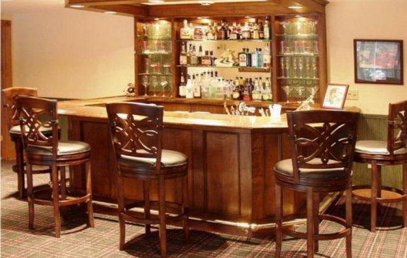 Decorating, Wine Bar