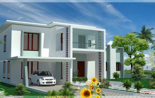 Roof modern house designs