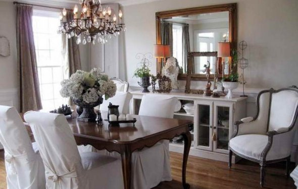 Formal dining room decorating