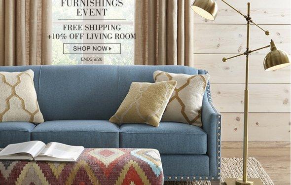 FS + 10% OFF living room
