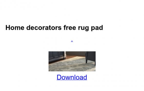 Home decorators free rug pad