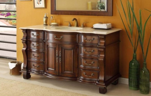 66.Nice Bathroom Vanities with