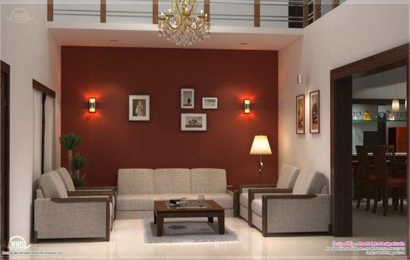 Living Room Kerala : Home