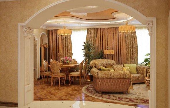 Home interior arch designs
