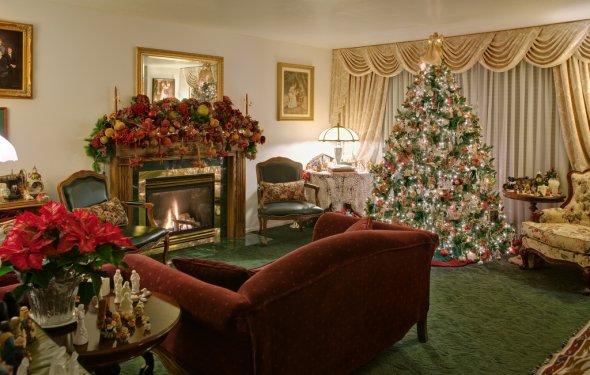 Home interior Christmas
