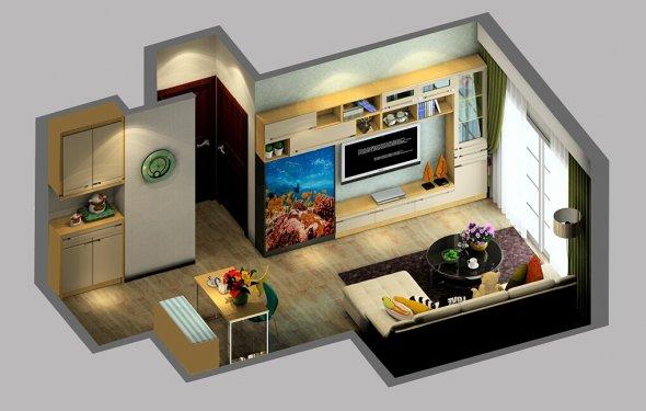 Small House Interior