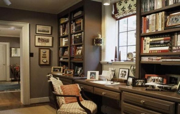 Small home office decorating