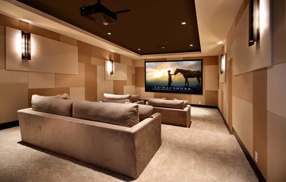 Home theater wall decor home