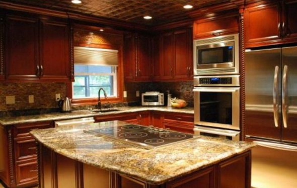 Kitchen design colors image of