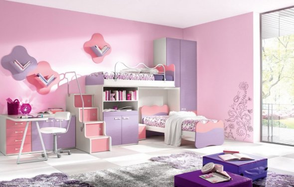 Kids Interior Design Bedrooms