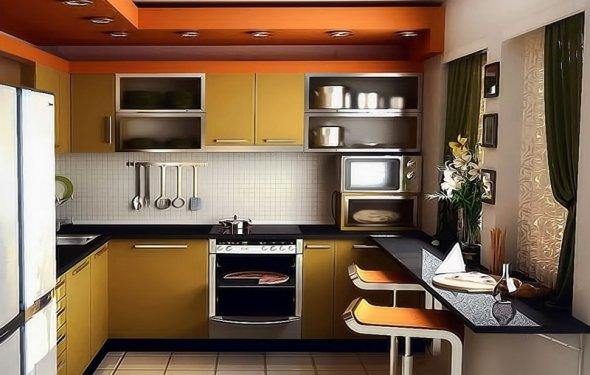 Kitchen Designs Small Spaces