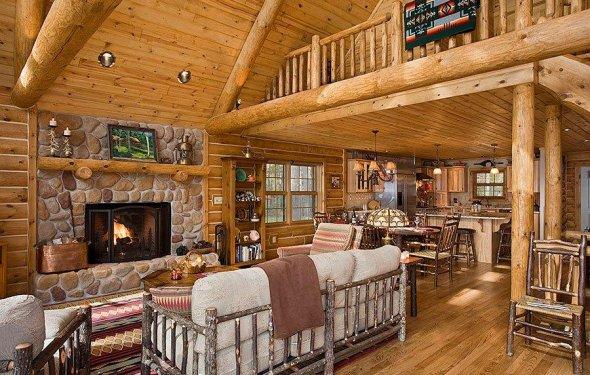 Log Home Interior Decorating