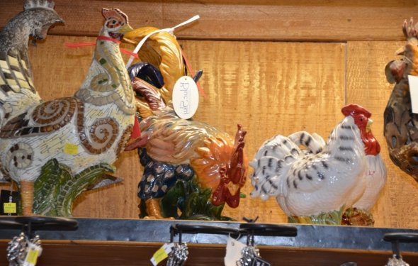 Lovely Rooster Home Decor