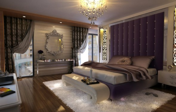 Luxurious Bedroom Interior
