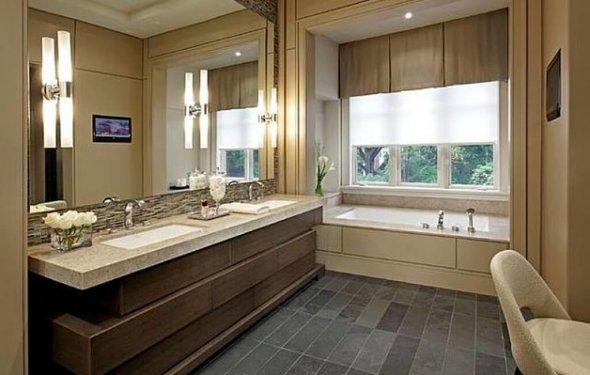 Modern Bathroom Design With