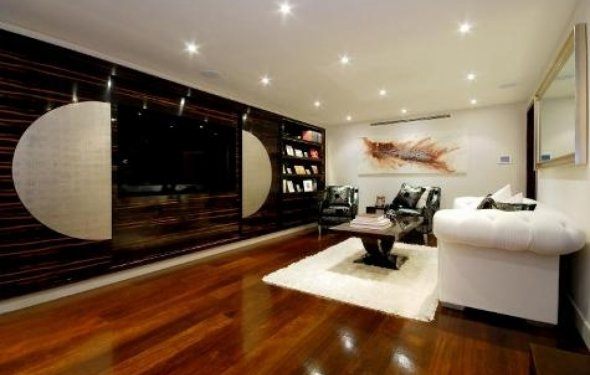 Modern interior home