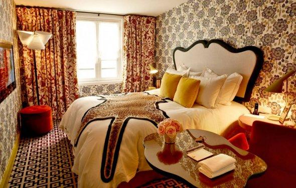 Paris Art Deco Bedroom