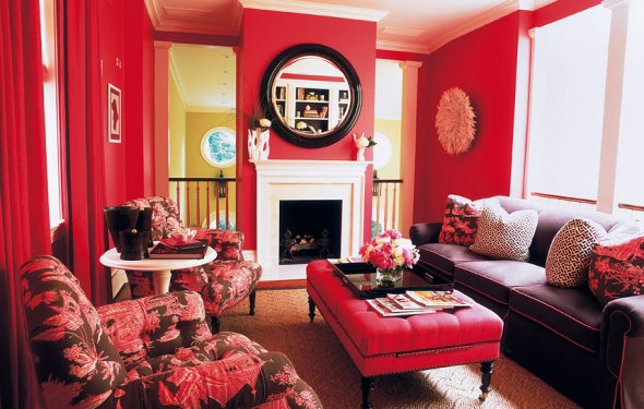 Red Home Decor Accessories