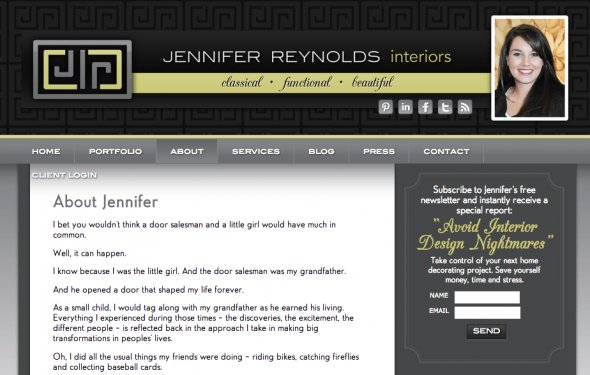 Jennifer Reynolds website
