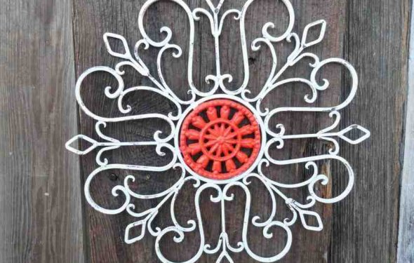 Rod Iron Wall Art Home Decor