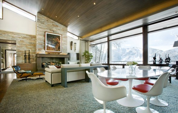 Slanted Ceiling Home Design