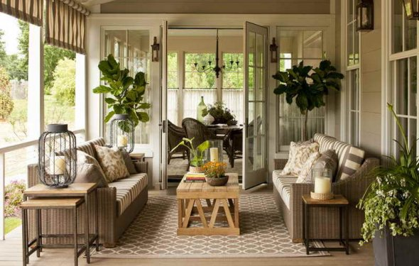 Southern living home decor