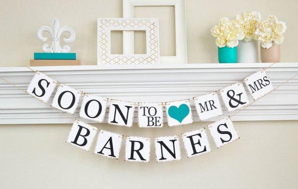 Engagement Party Decor, Bridal
