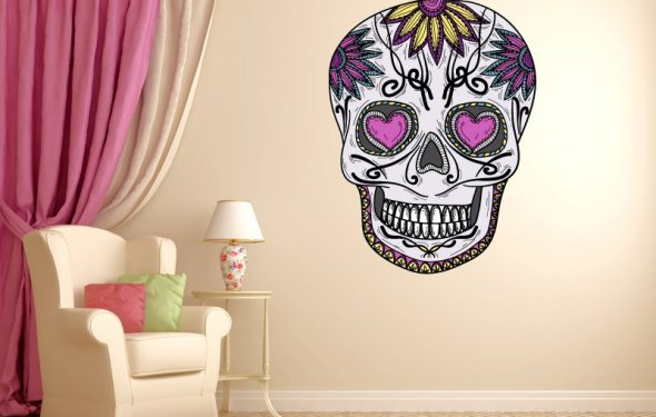 Image of: sugar skull home