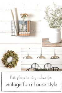 Authentic vintage items can be such a lovely way to incorporate some farmhouse style home decor into any space! If you are seeking to deliver some farmhouse design to your house, it's also important to check-out these gorgeous web stores!
