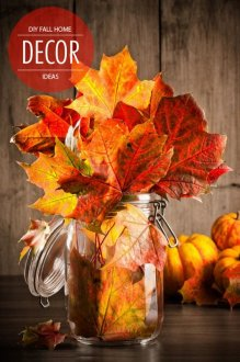 DIY Fall Decor a few ideas